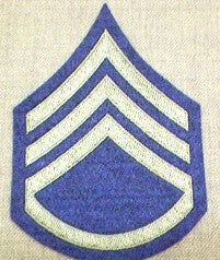Chevrons, Rank, Felt, Staff Sergeant, Army