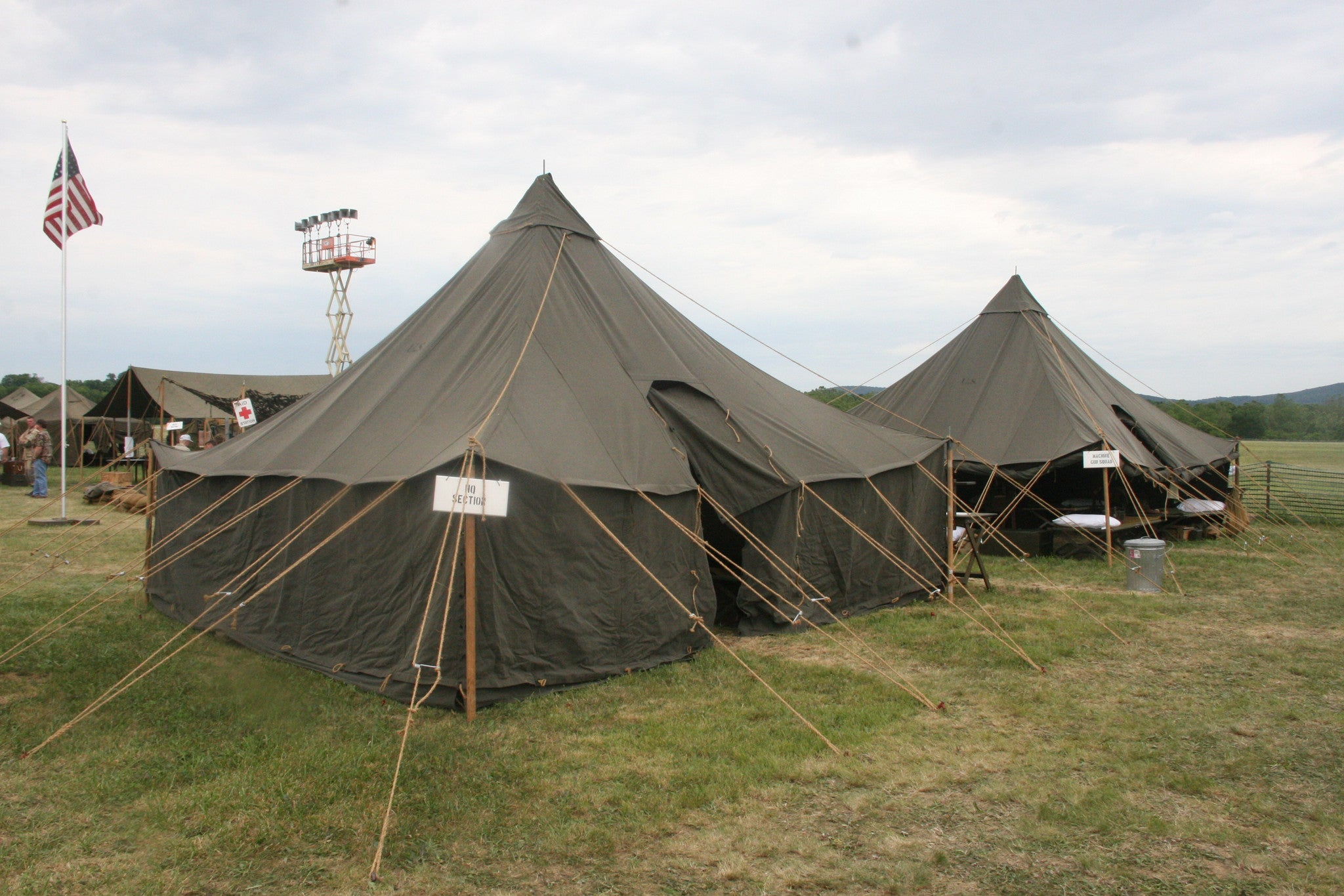 Tent Pyramidal M1934 OD (No Stakes or poles) & Tent Pyramidal M1934 OD (No Stakes or poles) u2013 WWII Impressions Inc