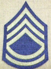 Chevrons, Rank, Felt, Technical Sergeant, Army