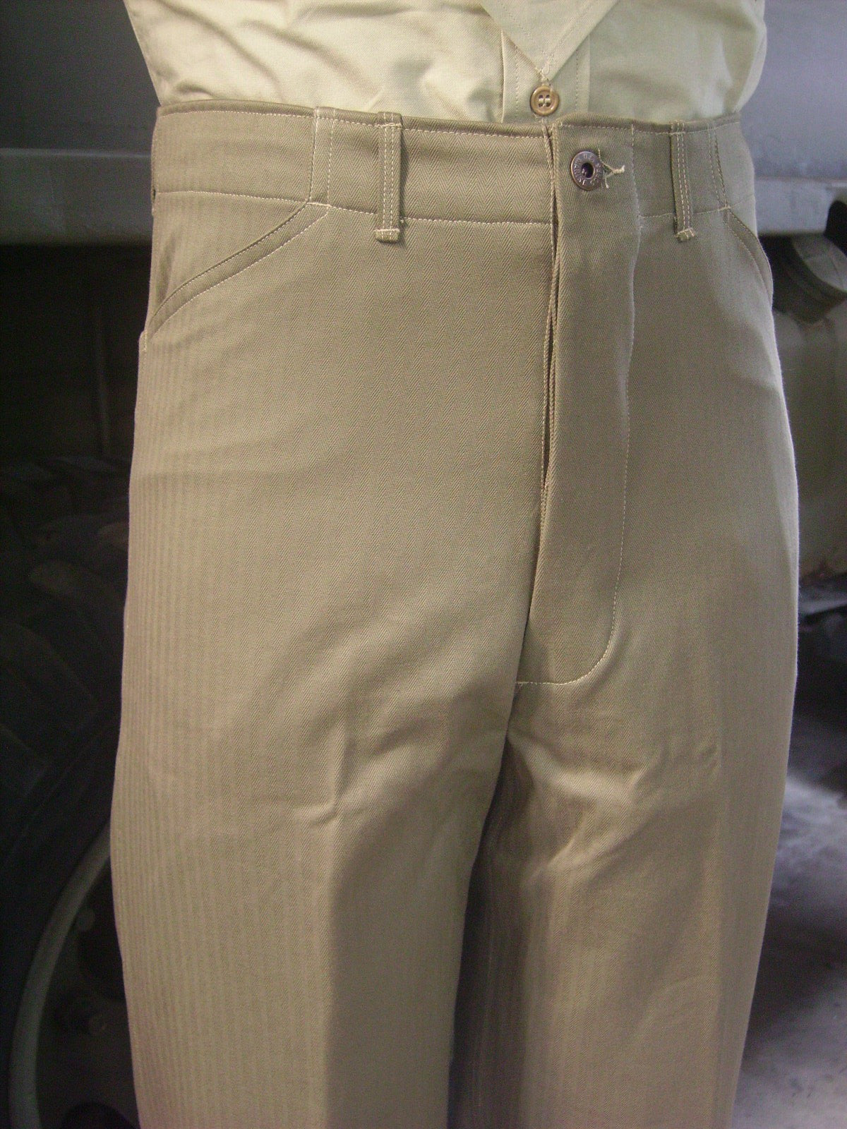 Trousers, Utility, USMC, Green Hidden Pocket, P41