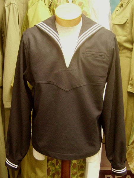 Jumper, Wool, Dress, USN (Blue)