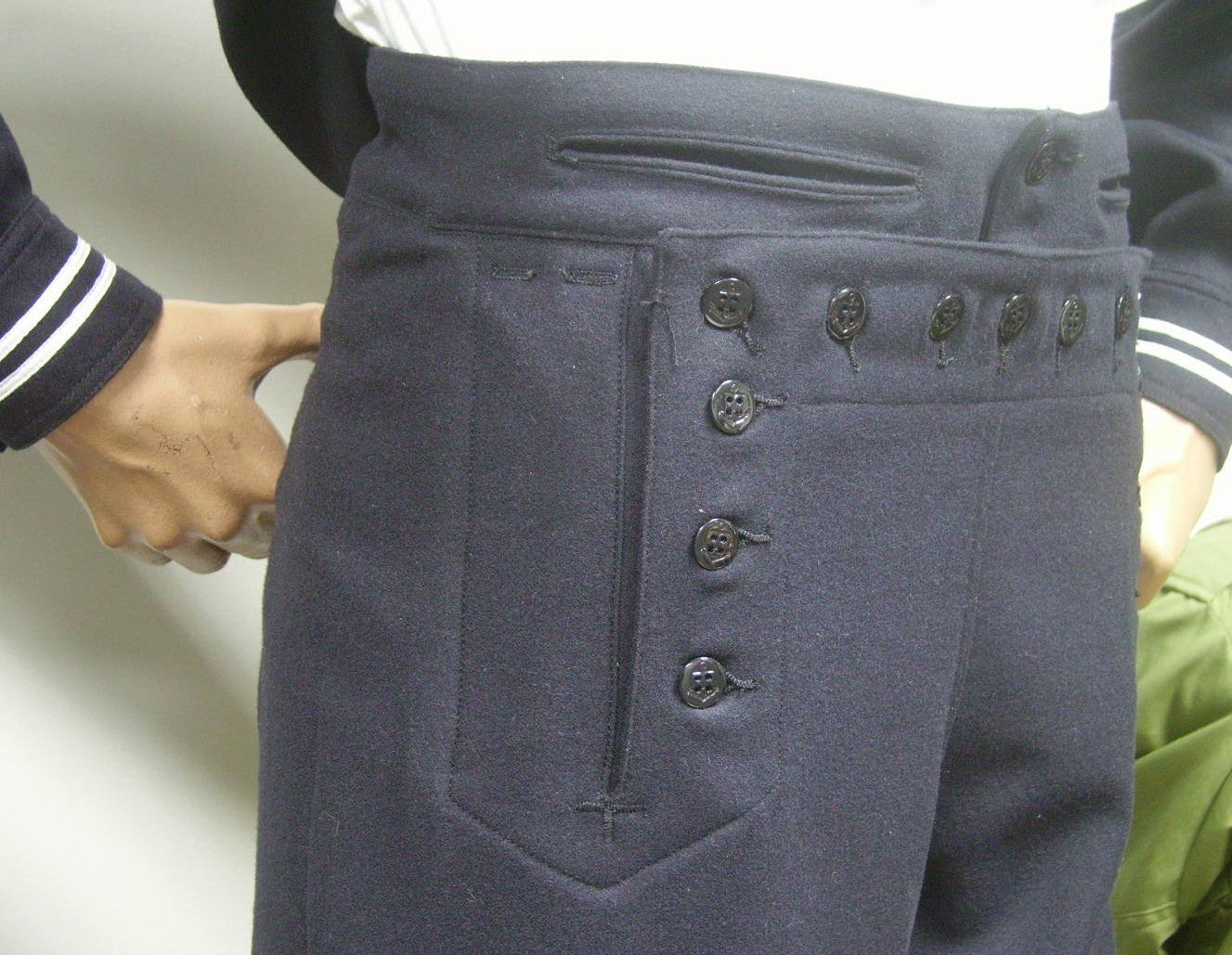 Trousers,Wool, Dress, USN (Blue)