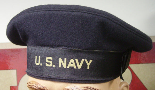 Hat, Dress Blue, USN
