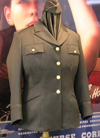 Jacket, WAC, Wool, Dark Shade, Officer's