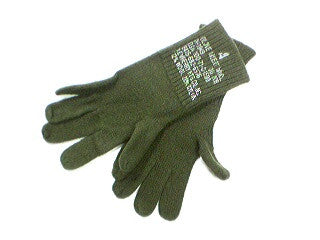 Gloves, Insert, Wool, Surplus, CLOSEOUT sold as-is. All sales final.