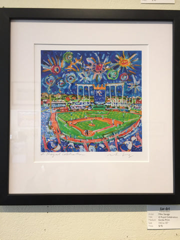 "SPECIAL EDITION: ""A Royal Celebration"" framed print"
