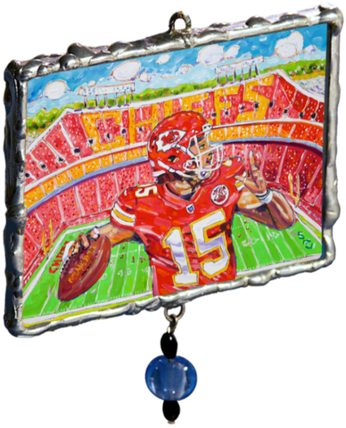 2018 'Home of Mahomes' Ornament