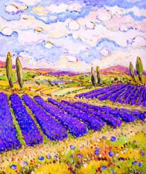 Purple of Provence