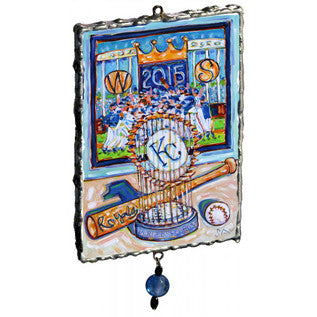 2015 'Royal Champs! World Series Champions' Ornament