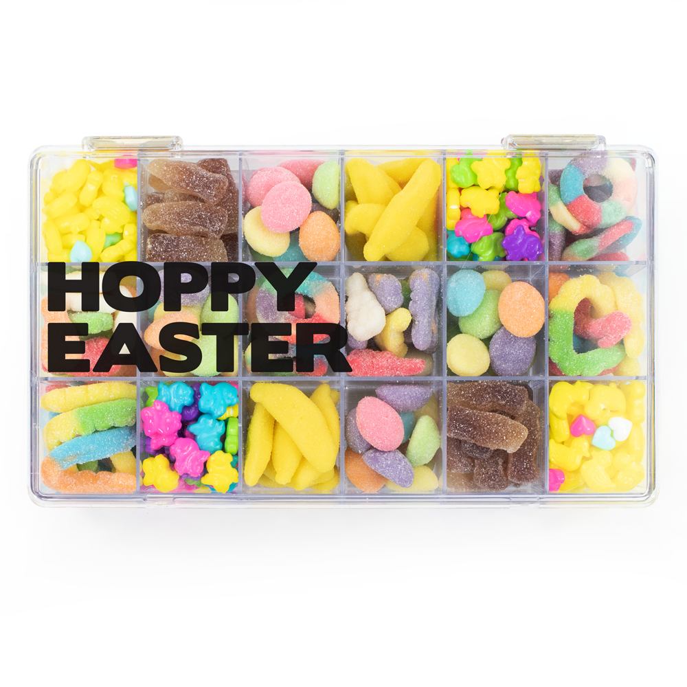 Easter 18 Piece Snackle Box