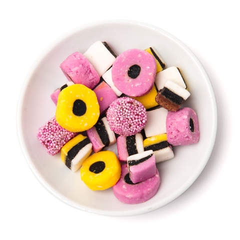 mini liquorice all sorts