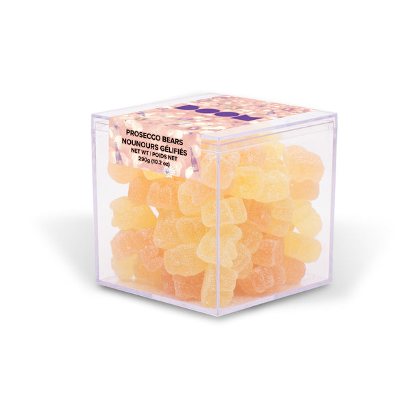 Prosecco and Rose Bears Candy Cube