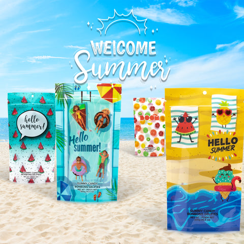 Summer 4 Pack Candy Bag Collection