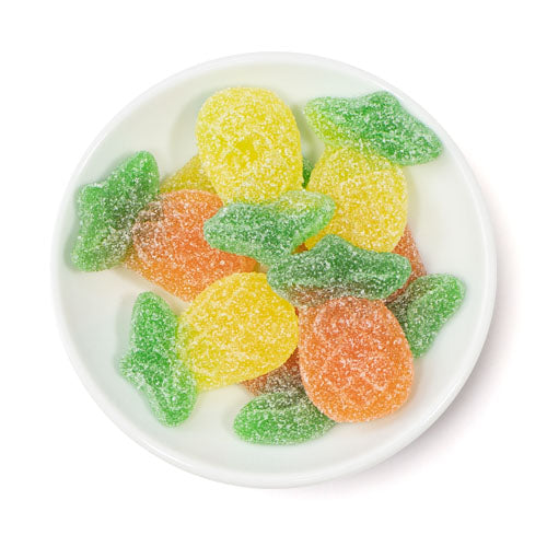 sour gummy pineapples