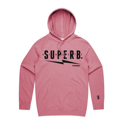 Superb Athlete Line Hoodie - Vintage Cherry