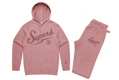 Superb Sluggo Tonal Jogger Set - Rose