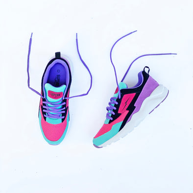 Turbo 1 (Cotton Candy) - Arctic Blue/Grape/BLK