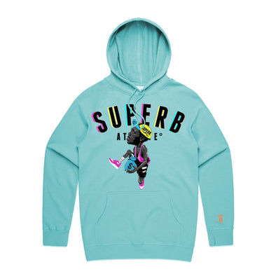 Sidney Deane Superb Athlete Hoodie - Mint