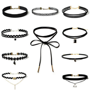 [PROMO EXCLUSIVE] 10 COLLIERS CHOKERS ! Royaume du Bijou
