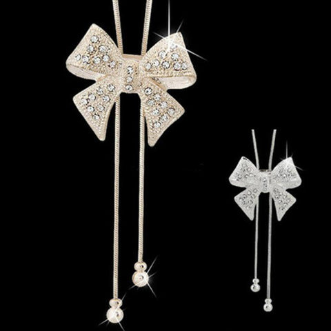 Collier Noeud-Papillon