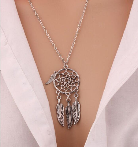 Collier Boho Attrape Rêves