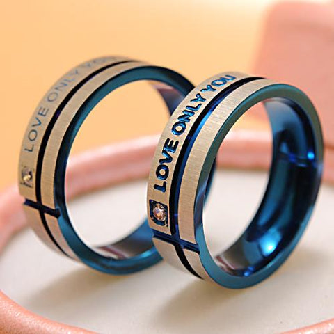 "Bague ""Love Only You"""