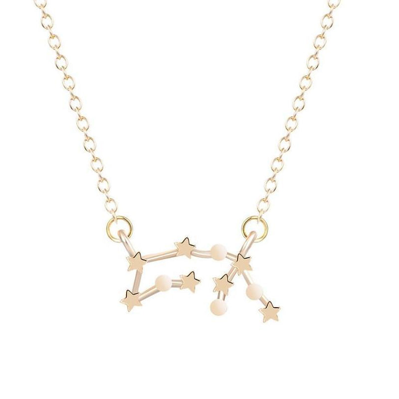 Collier 12 Constellations Royaume du Bijou Doré Bélier