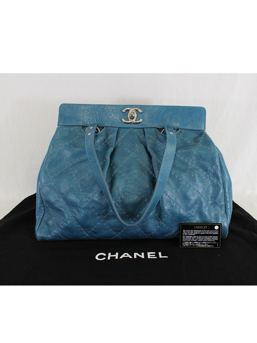 CHANEL <br> On the Road Large Tote
