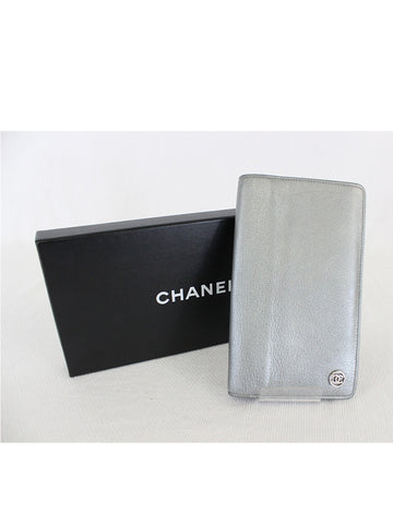 CHANEL <br> CC Logo Long Wallet