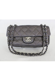 CHANEL <br> Quilted Caviar Small Flap Bag