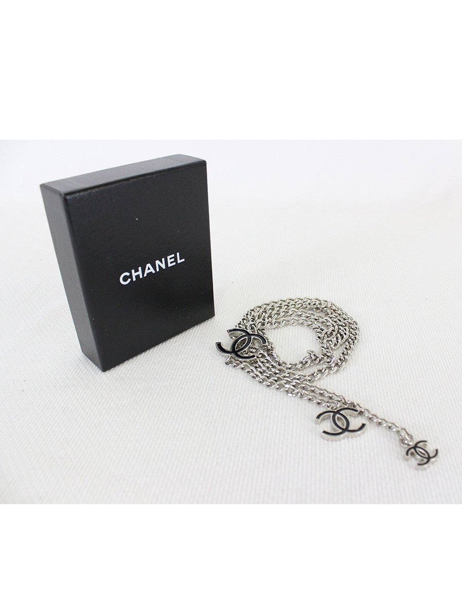CHANEL <br> CC Logo Chain Belt