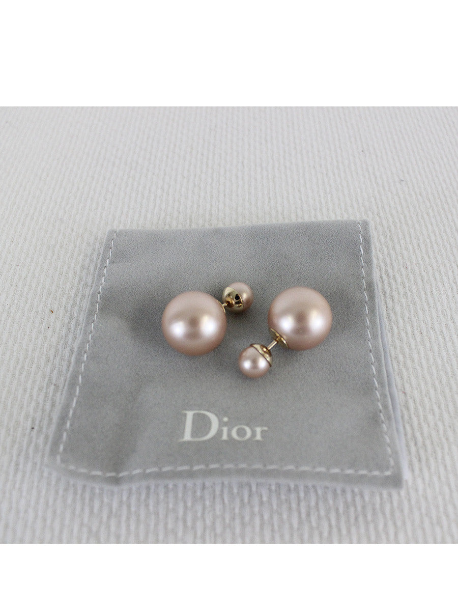 Christian Dior <br> Tribal Pearl Earring