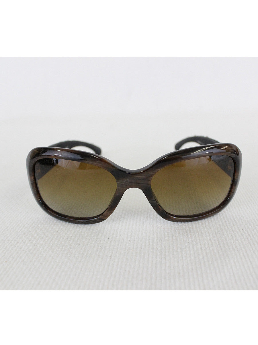 CHANEL <br> Tweed Sunglasses