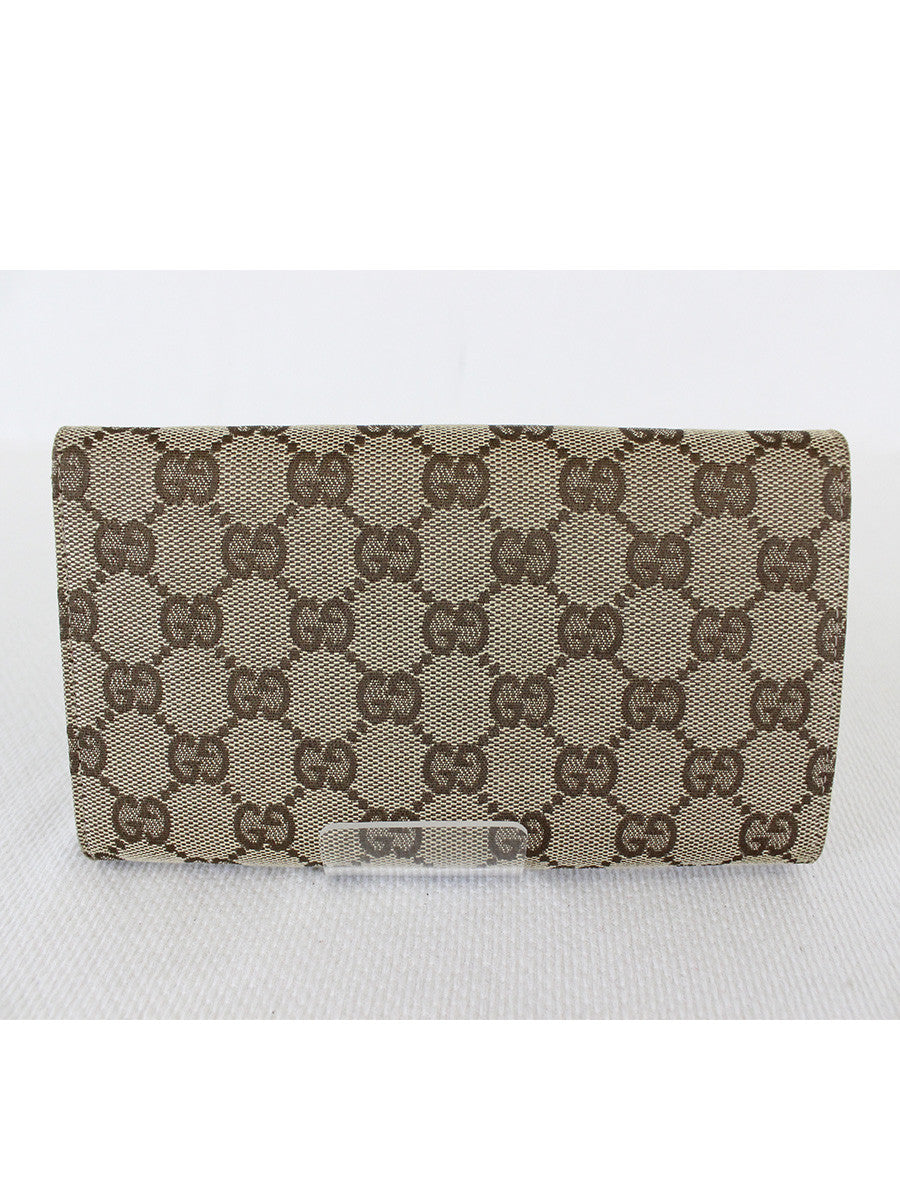 GUCCI <br> Hasler Horsebit Long Wallet
