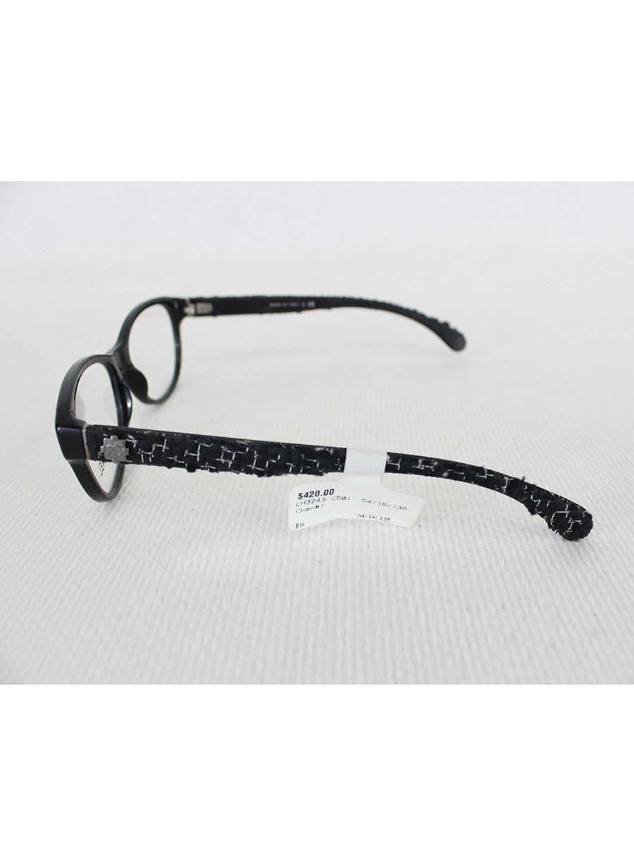 CHANEL <br> Tweed Eyeglasses