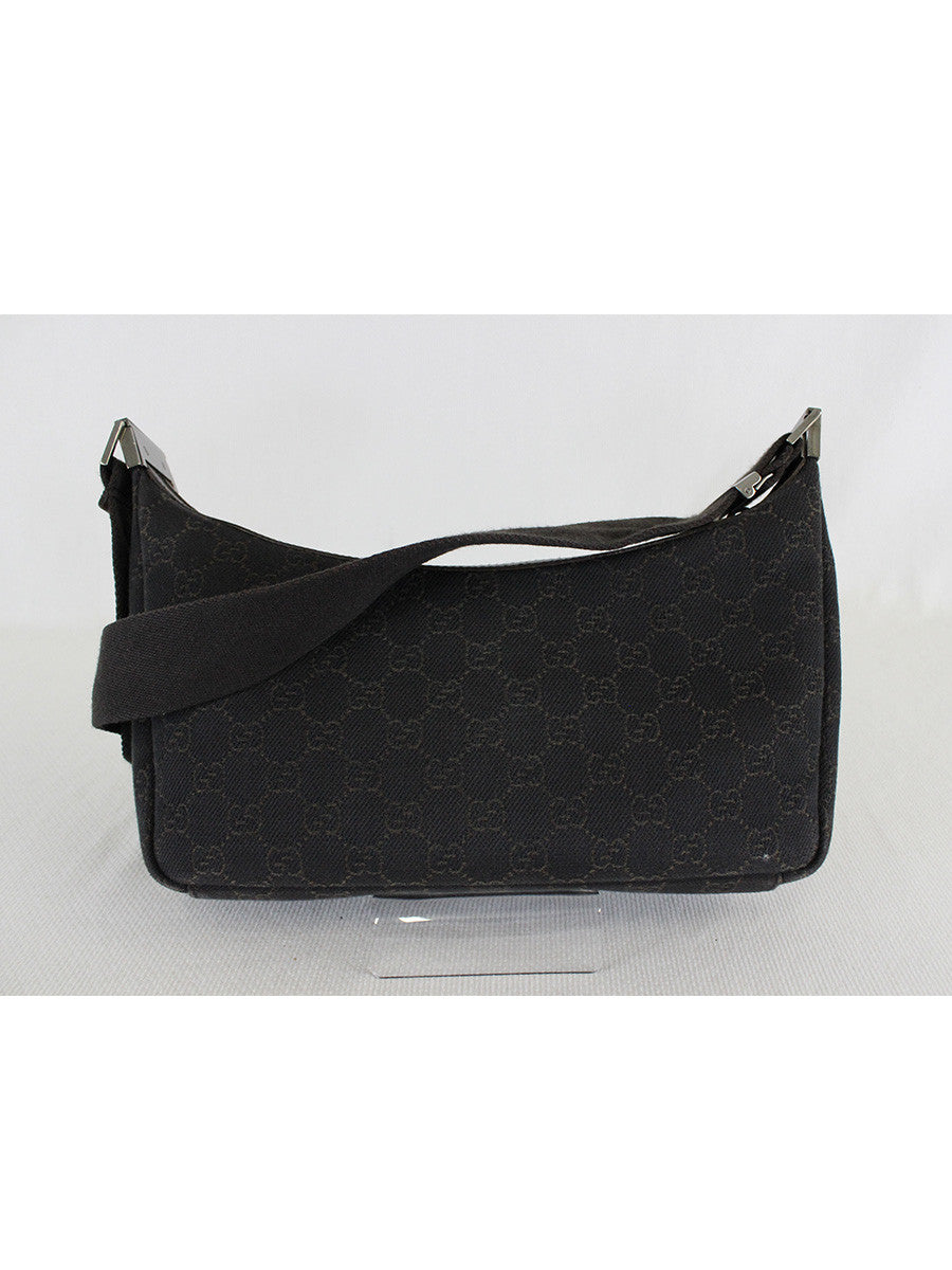 GUCCI <br> GG Canvas Small Messenger Bag