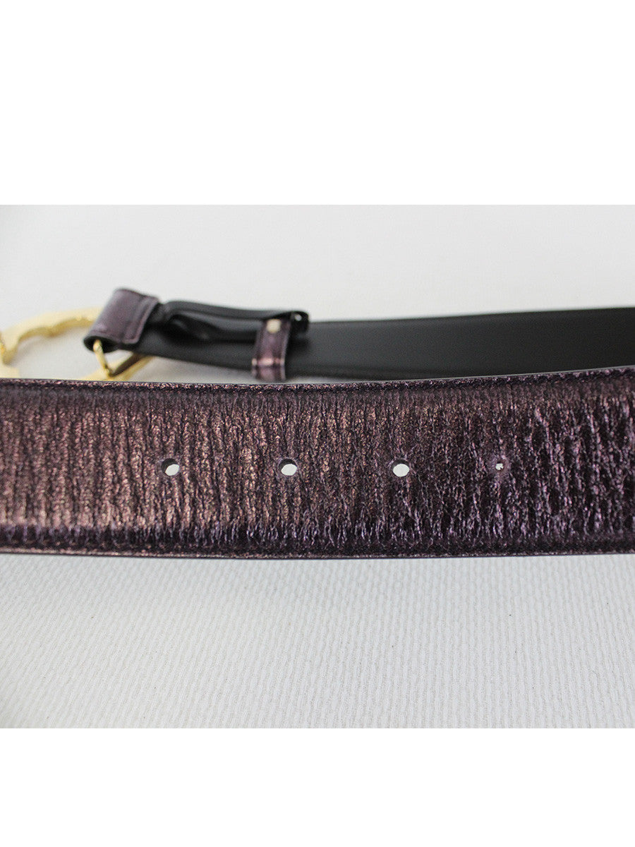 GUCCI <br> Bamboo Bucklet Belt