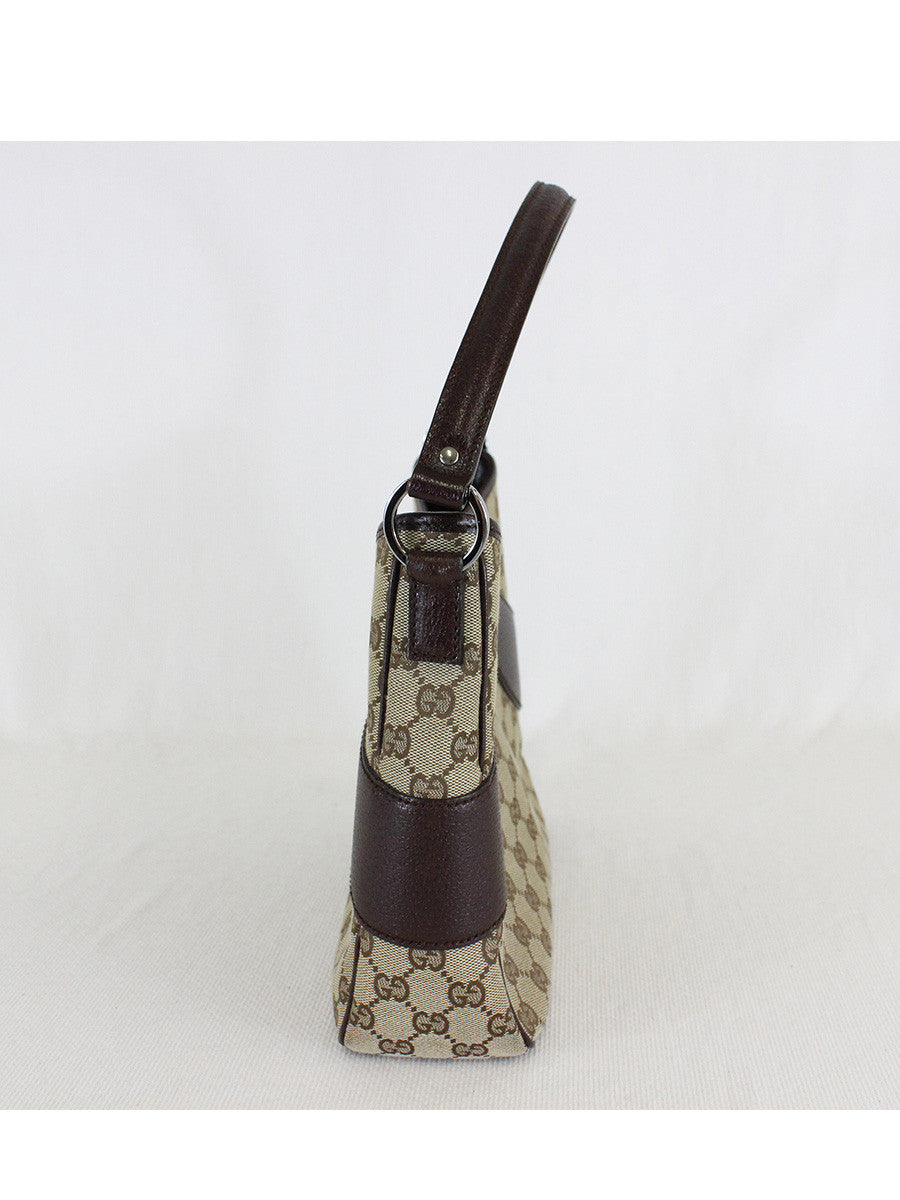 GUCCI <br> GG Canvas Shoulder Bag