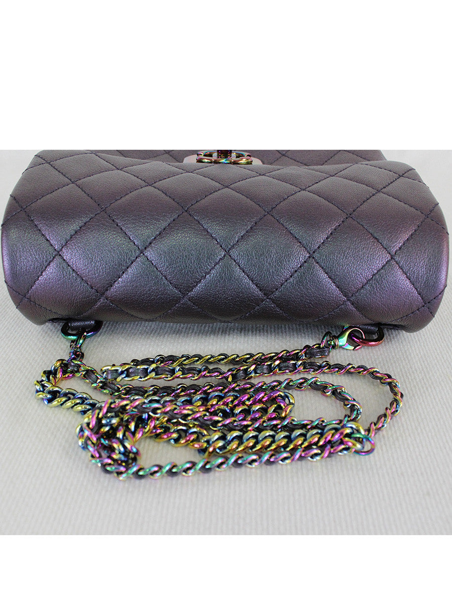 CHANEL <br> Iridescent Small Flap Bag