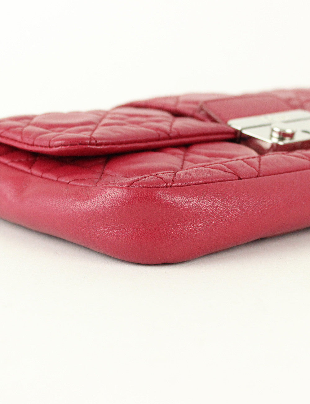 Christian Dior <br> Miss Dior Small Flap Bag (Missing Key)