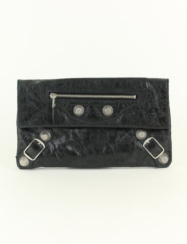 Balenciaga <br> Giant 21 Envelope Clutch Bag