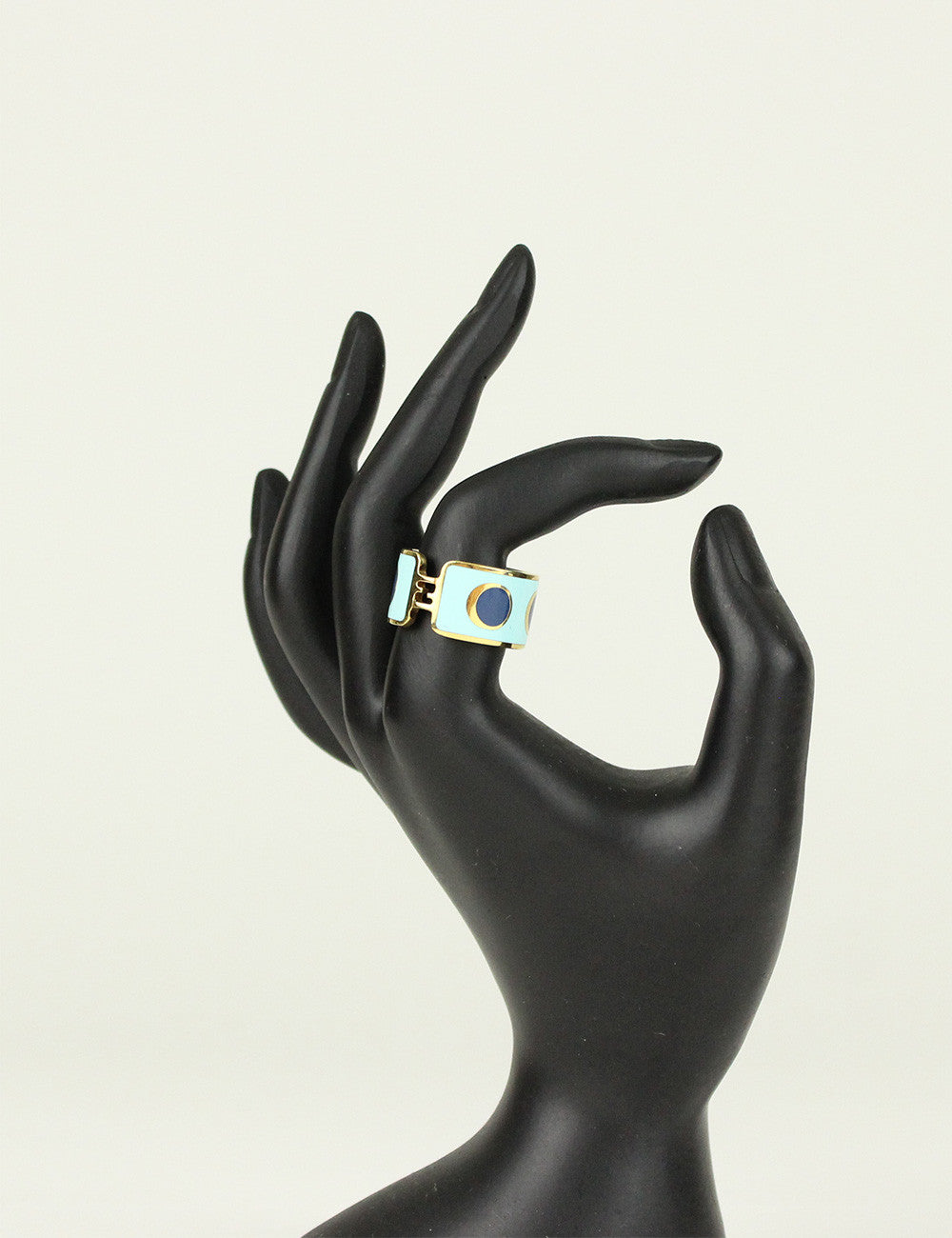 Fendi <br> Enamel Ring