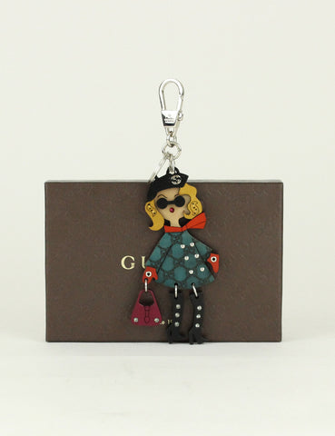 Gucci <br> Lady Key Ring Charm