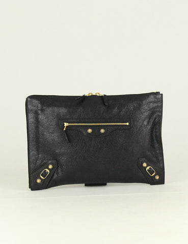 Balenciaga <br> Giant Pouch Arena Clutch Bag