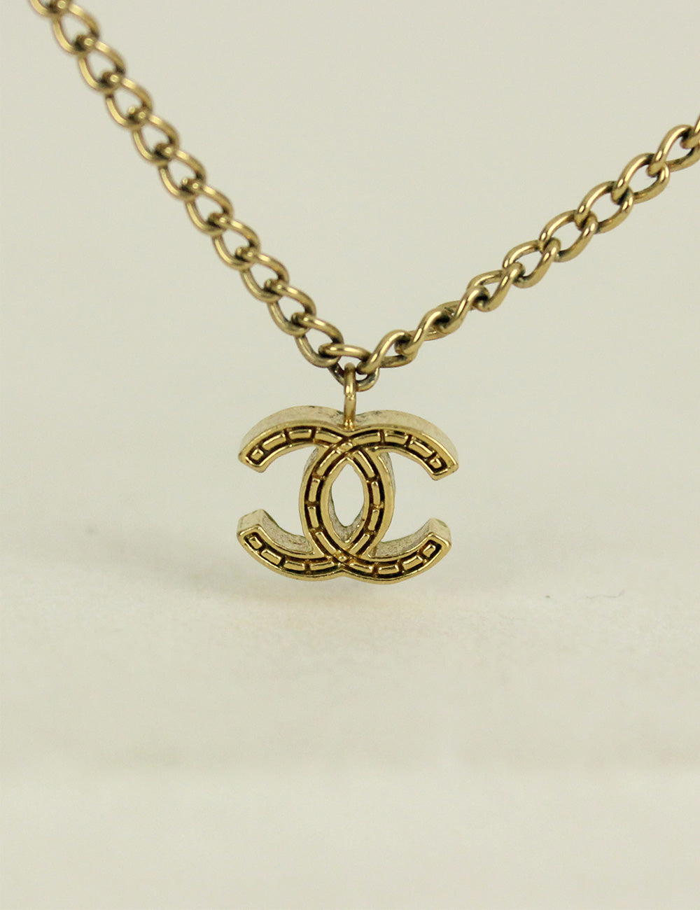 Chanel <br> CC Logo Charms Necklace