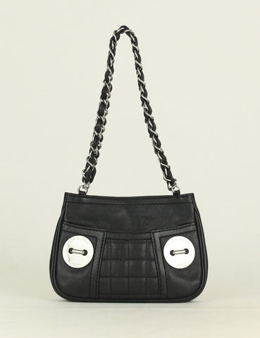 Chanel <br> Mini Caviar Shoulder Bag