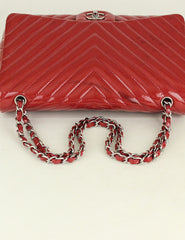 CHANEL <br> Chevron Maxi Single Flap Bag