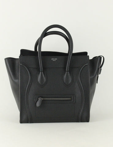 Celine <br> Mini Luggage Tote Bag