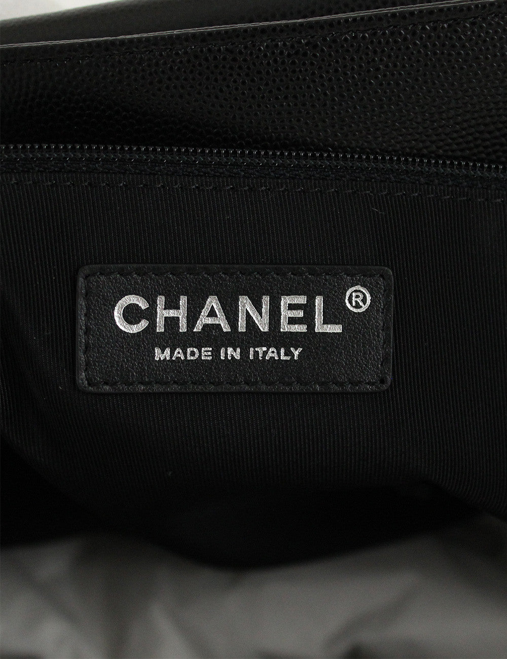 Chanel <br> Chevron Shopping Tote Bag