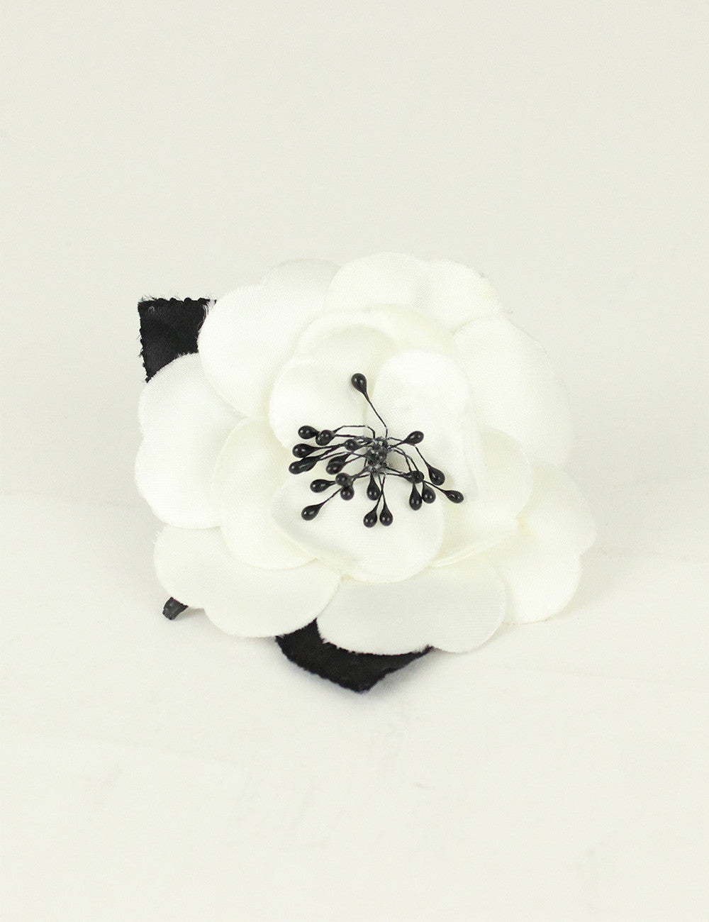 Chanel <br> Vintage Camellia Brooch Pin